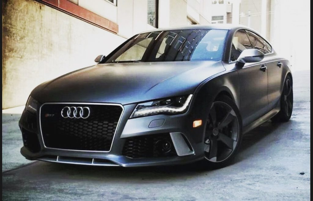 Audi RS7 Laser jammers